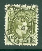 Nigeria: 1938/51   KGVI    SG56    1/-   Used - Nigeria (...-1960)