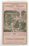 """52 - SAINT-DIZIER - Buvard Etablissement Ernest Ronot - Chaudière """"Rex """" Incassable .... - Agriculture"""
