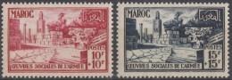 N° 294 Et N° 295 - X X - ( C 707 ) - Maroc (1891-1956)
