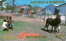 *ANTIGUA & BARBUDA - 17CATA* - Scheda Usata - Antigua And Barbuda
