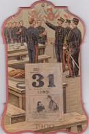 SOCLE DE CALENDRIER De 1900 Superbe (lot 139) - Uniforms