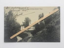 GENAPPE «PAYSAGE À LA FERME SEMAL À WAYS «Panorama (Édit Maison DECELLE ) 1910 . - Genappe