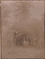 Photo Originale Militaria Une église Dans Le Bois De SORNEVILLE - Guerre, Militaire