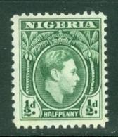 Nigeria: 1938/51   KGVI    SG49    ½d      MNH - Nigeria (...-1960)