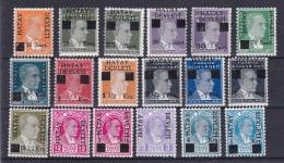 Turquie, Turkey  1939  HATAY DEVLETI N°7/11*  + 17/29* - 1934-39 Sandjak Alexandrette & Hatay