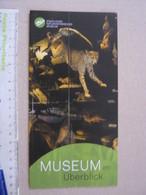 Z.06 FOSSILI DEPLIANT MUSEO PALEO - GERMANY UBERBLICK - Fossili