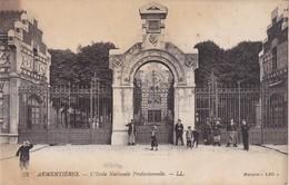 ARMENTIERES - L'Ecole Nationale Professionnelle - Animé - Armentieres