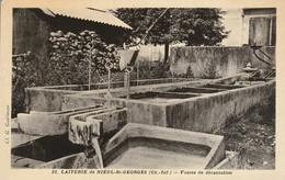 Charente-maritime : NIEUL-st- GEORGES : Laiterie ( Fosses De Décantation ) - Other Municipalities