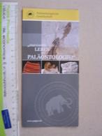 Z.06 FOSSILI DEPLIANT - GERMANY - PALAONTOLOGISCHE GESELLSCHAFT PROMO - Fossili