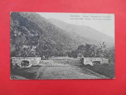 GAGRY 1910 Primorsky Boulevard Russian Postcard. - Georgia