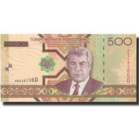 Billet, Turkmanistan, 500 Manat, 2005, 2005, KM:19, NEUF - Turkménistan