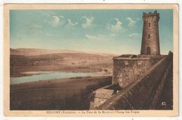 90 - BELFORT - La Tour De La Miotte Et L'Etang Des Forges - Karrer 82 - Belfort – Siège De Belfort