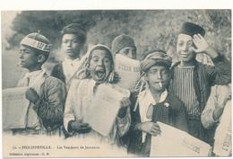 """PHILIPPEVILLE - Les Vendeurs De Journaux - """"L'Union Républicaine"""" - Skikda (Philippeville)"""