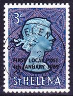 St. Helena - Eröffnung Der Lokalpost (MiNr: 164) 1965 - Gest Used Obl - Saint Helena Island