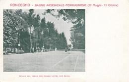 Cartolina Di Roncegno Grand Hotel Il Campo Da Tennis - Sport Trento Trentino Alto Adige - Trento