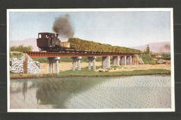 CHINA  - TRAIN - TRENES - INTERESTING POST  CARD - D 2790 - Cina