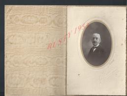 ANCIENNE PHOTO  E LECONTE 6,5X9 SAUMUR HOMME EMILE LANDAIT : - Personnes Identifiées