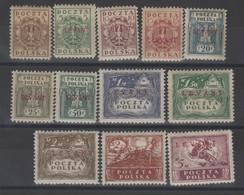 Pologne (bureau ) Surchargé Levant _  Série N° 1/12 (1919 ) - Levant (Turquía)
