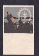 Guerre 14-18 Weihnachtsfreude Unser Märtern Illustrateur Bernhard Noel Tranchee Casque à Pointe - Guerra 1914-18