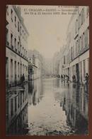 CHALON SUR SAONE (71) - INONDATIONS DES 24 & 25 JANVIER 1910 - RUE DENON - Chalon Sur Saone