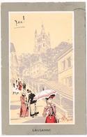 CARLO PELLEGRINI : Lausanne 1912 Artist Signed - Illustratori & Fotografie
