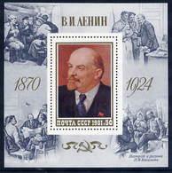 SOVIET UNION 1981 Lenin Birth Anniversary Block MNH / **.  Michel Block 151 - 1923-1991 USSR