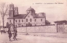 ALTE   AK   KORCA - Koritza / Albanien   - La Cathedrale - Ca. 1915 - Albania