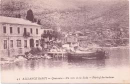 ALTE   AK   SARANDA - Quaranta / Albanien   - Un Coin De La Rade - Ca. 1915 - Albania