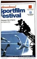 X SPORTFILM FESTIVAL 2000 PUBBLICITARIA NUOVA TEMATICA SPORT FILM CINEMA - Cinema