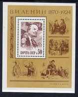 SOVIET UNION 1983 Lenin Birth Anniversary Block MNH / **.  Michel Block 165 - 1923-1991 USSR