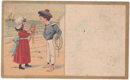 Chromo - Chaussures, Ancienne Maison Aubert Et Drouard, Sommet Drouard, Chartres - Autres