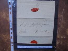 DANZIG 1810 PRE-PHILATELIE TRES BON ETAT !(1) - Manuscripts