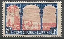 France - 1930 Algieria Centenary 50c MLH *   Mi 247  Sc 255 - France