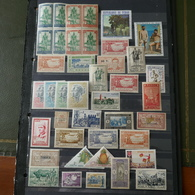 Anciennes Colonies Françaises Sur Des Feuilles D'album Lot3 - Sellos