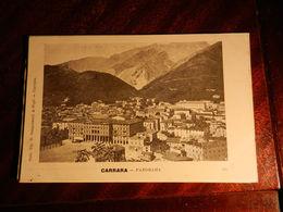 15447) CARRARA PANORAMA NON VIAGGIATA MA 1902 CIRCA Ed SANGUINETTI - Carrara
