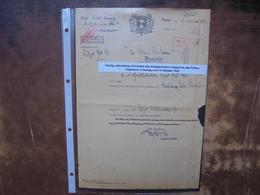 DANZIG(DEUTSCH) 13 OCTOBRE 1933 BON ETAT !(2) - Manuscripts