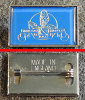 Badge (pas Pin's) Du Groupe BARCLAY JAMES HARVEST - Papillon - Fabrication Anglaise Façon Camé - Music