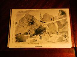 15937) CARRARA CAVA CORSI NON VIAGGIATA MA 1902 CIRCA Ed SANGUINETTI - Carrara