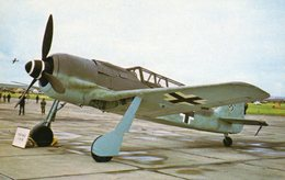 Focke Wulf FW190 A-8  -  Two Seater Trainer Version Of German Fighter  -  CPM - 1939-1945: 2ème Guerre