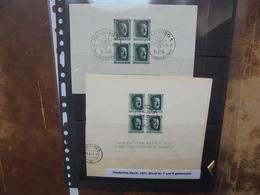 3eme REICH 1937 BLOC N°7+8 OBLITERES (6) - Oblitérés