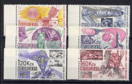 TCHECOLOVAQUIE ( POSTE ) : Y&T N°  1550/1555  TIMBRES   NEUFS  SANS  TRACE  DE  CHARNIERE , A  VOIR . - Czechoslovakia