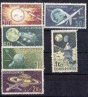 TCHECOLOVAQUIE ( POSTE ) : Y&T N°  1268/1273  TIMBRES   NEUFS  SANS  TRACE  DE  CHARNIERE , A  VOIR . - Czechoslovakia