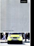 BROCHURE SMART City Coupe & Cabrio BUS ANNO 2000 - Automobili