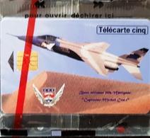 """Télécarte 5 Unités - """" Base Aerienne 106 Merignac"""" Capitaine MICHEL CROCI. Neuve Sous Blister// 02/96. Tirage 9000 Exemp - Frankreich"""