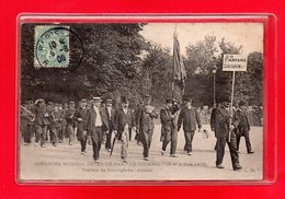 67-CPA SCHILTIGHEIM - LA FANFARE - CONCOURS MUSICAL ORGANISE PAR LE JOURNAL - 3 Et 4 JUIN 1906 - Schiltigheim