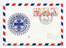 BRD UMSCHLAG 1984 ARBEITSSTAB BUNDESWEHR KIELER WOCHE KIEL BUNDESWEHR NAVY - [7] Federal Republic
