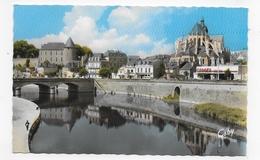 MAYENNE - N° 10 - LES BORDS DE LA MAYENNE - GARAGE CITROEN - CHATEAU - FORMAT CPA VOYAGEE - Mayenne