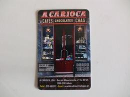 Drink Torrefaction Coffee/Café/Caffe Carioca Portugal Portuguese Pocket Calendar 2018 - Calendars