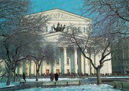 1 AK Russia * Das Bolschoi Theater In Moskau - Das Bekannteste Und Wichtigste Theater Für Oper Und Ballett In Russland - Russie