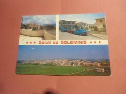 SALUTI DA SOLEMINIS - VEDUTINE  - CAGLIARI - Cagliari